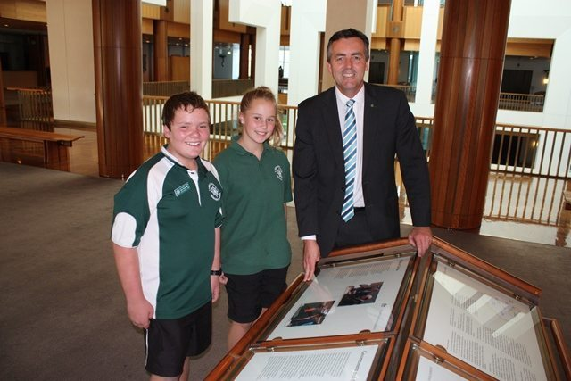 LAKES ENTRANCE PS VISITS CANBERRA
