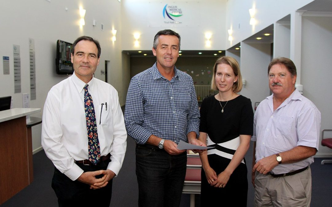 GIPPSLAND MP CONSULTING WITH LOCAL GPs ON MEDICARE