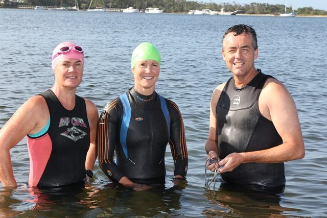 FEDERAL MP SUPPORTS LOCAL OPEN WATER SWIMMERS