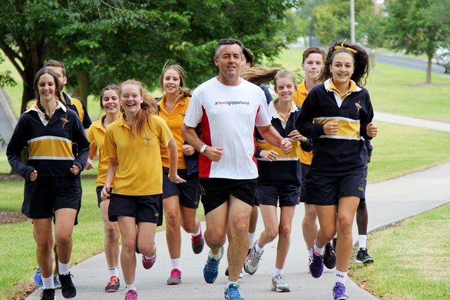 TAKE ON DARREN CHESTER CHALLENGE AT TRARALGON COMMUNITY FUN RUN