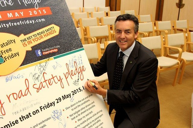 GIPPSLANDERS URGED TO TAKE ROAD SAFETY PLEDGE