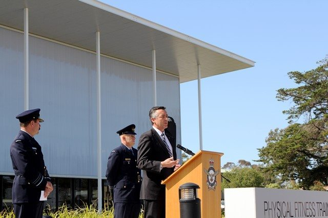 REDEVELOPED RAAF BASE EAST SALE OFFICIALLY REOPENS WITH FORMAL CEREMONY