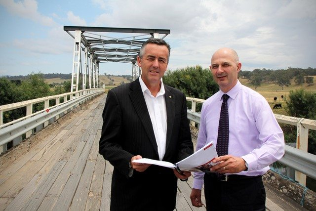 WOODEN BRIDGE NEAR GLENALADALE IN NEED OF AN UPGRADE – FEDERAL MP