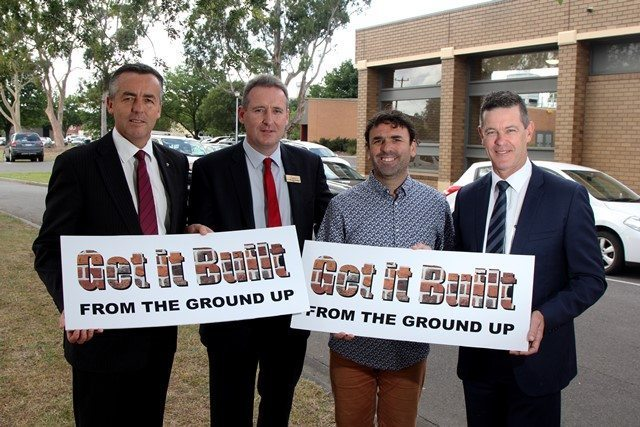 THREE LEVELS OF GOVERNMENT SHOW SUPPORT FOR A NEW LATROBE PERFORMING ARTS CENTRE IN TRARALGON