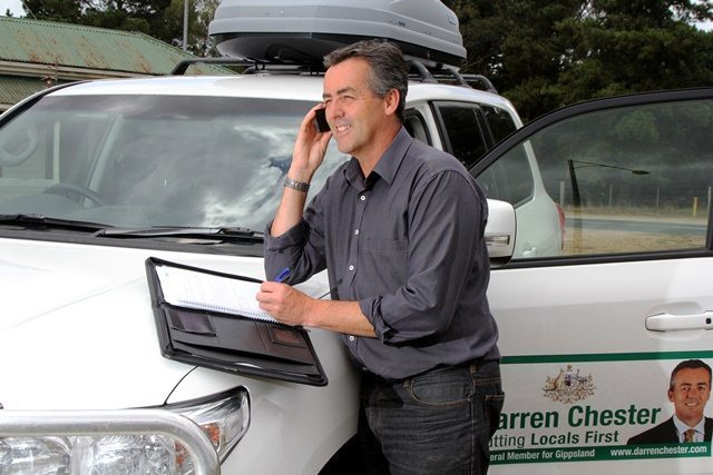 MOBILE PHONE COVERAGE BLACK SPOTS IN GIPPSLAND TO BE CONSIDERED FOR UPGRADES