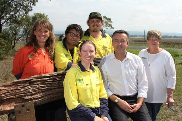 GREEN ARMY WORKS COMPLETED ON GIPPSLAND PLAINS RAIL TRAIL