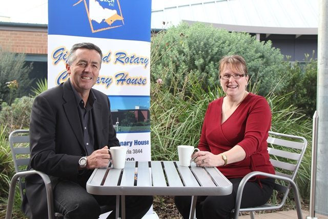 NEW FURNITURE FOR ROTARY CENTENARY HOUSE