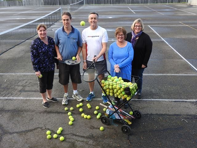 $15,000 TO RESURFACE TRARALGON'S PAX HILL TENNIS COURTS