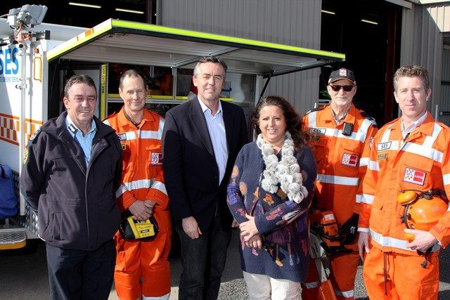 SES VOLUNTEERS TO GET EMERGENCY EQUIPMENT BOOST
