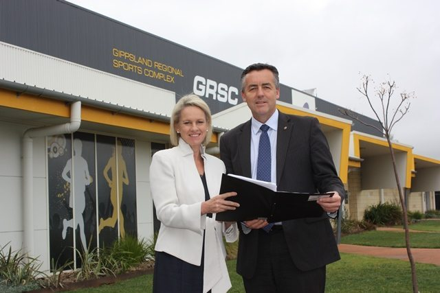 GIPPSLAND REGIONAL SPORTS COMPLEX (GRSC) RECEIVES FUNDING FROM THE NATIONAL STRONGER REGIONS FUND