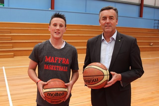 MAFFRA BASKETBALLER WINS GOVERNMENT RECOGNITION