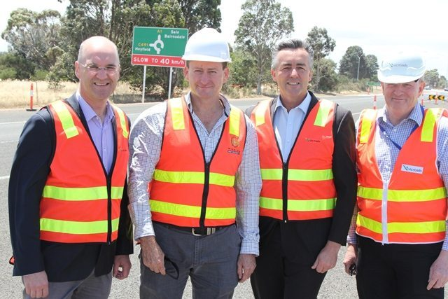 FULHAM 1 SECTION WORKS FINISHED ON PRINCES HIGHWAY EAST DUPLICATION