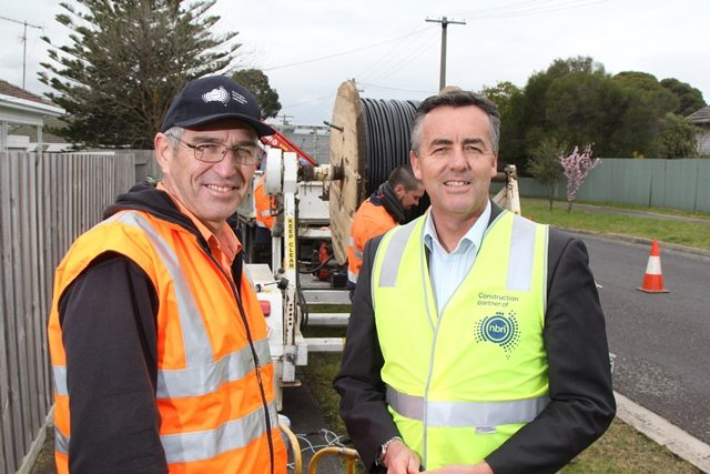 NBN CONSTRUCTION BEGINS IN YARRAM
