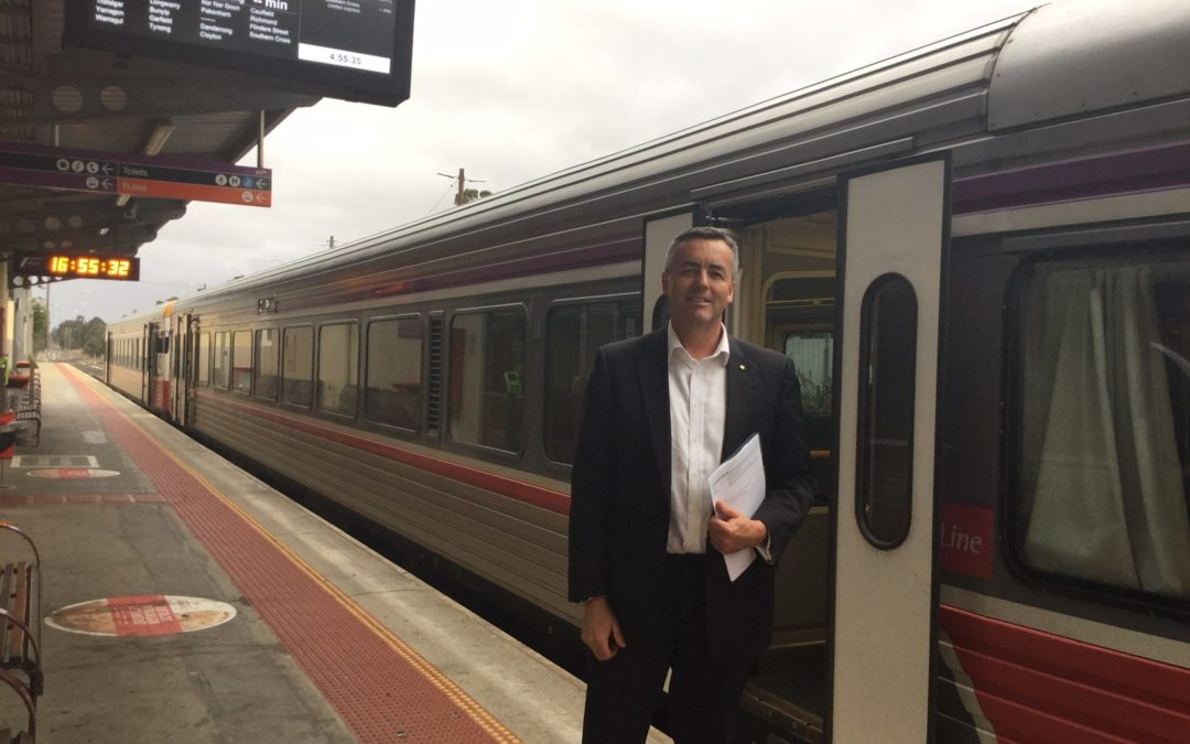 FEDERAL GOVERNMENT STILL COMMITTED TO RAIL UPGRADE
