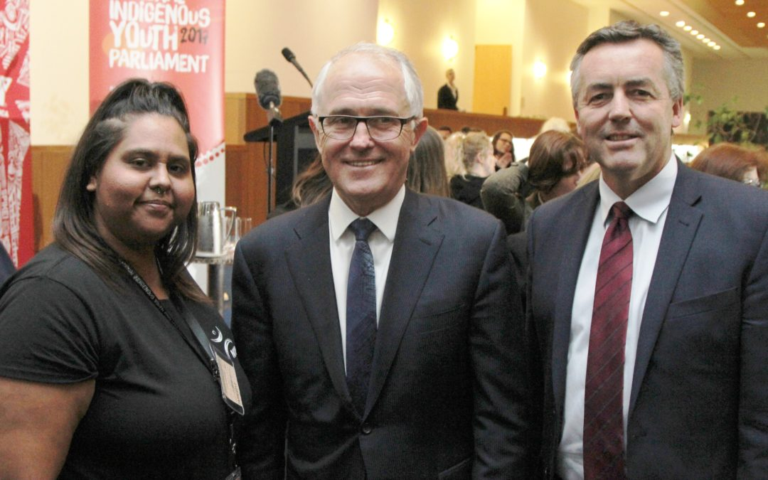 LAKES REPRESENTED AT NATIONAL INDIGENOUS YOUTH PARLIAMENT