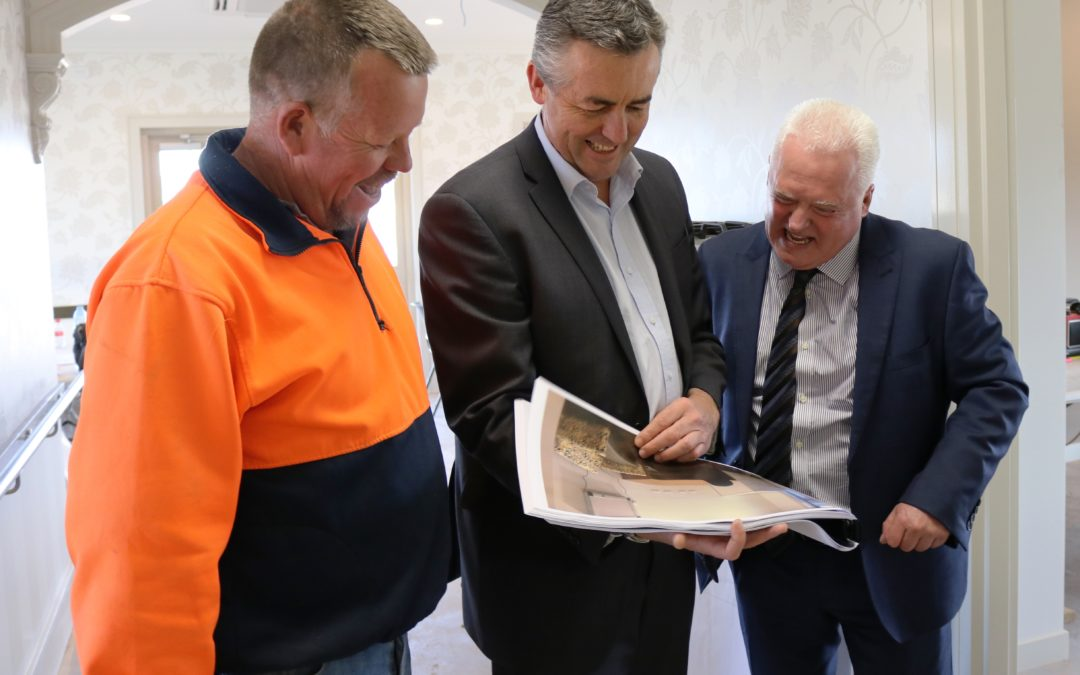 WELCOME BOOST TO AGED CARE PLACES IN WELLINGTON