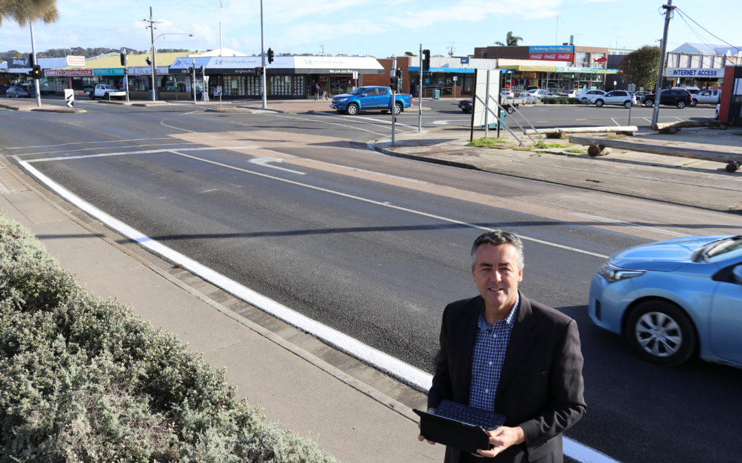 LAKES ENTRANCE PEDESTRIAN SAFETY TARGETTED