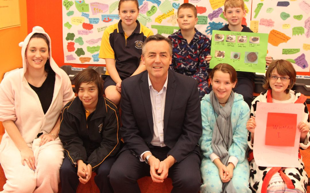 MORWELL CENTRAL PRIMARY SCHOOL PYJAMA DAY
