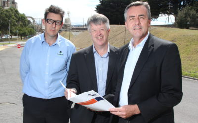 GOVERNMENT SUPPORT FOR INNOVATIVE WASTE TO ENERGY PROJECT IN VICTORIA'S LATROBE VALLEY