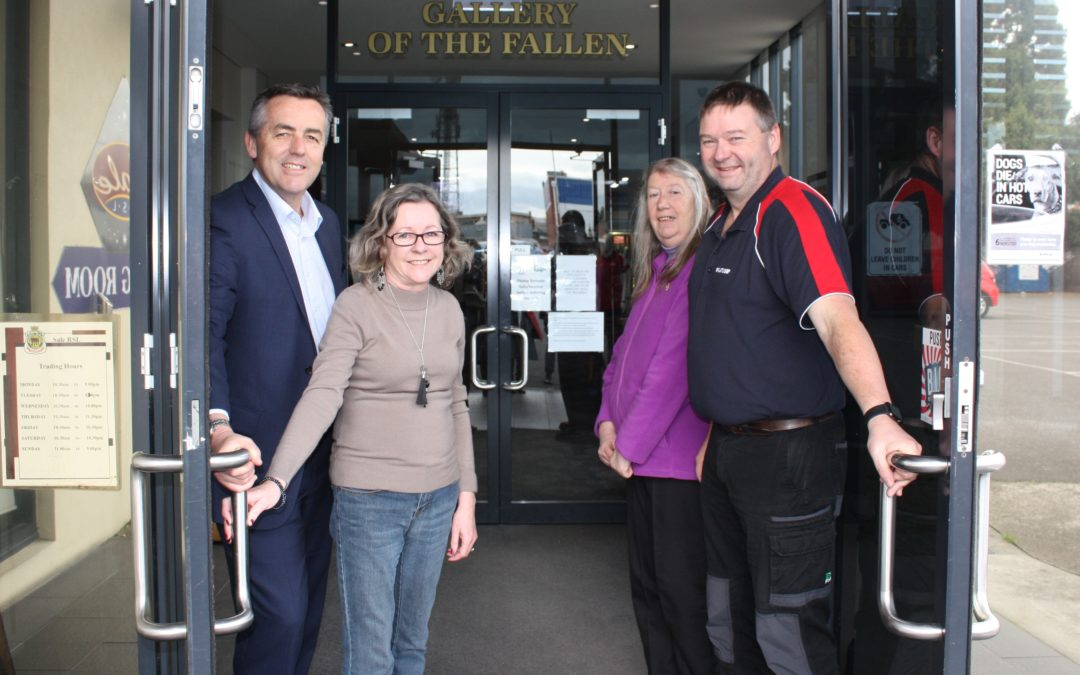 $15,000 FOR SALE RSL AND COMMUNITY CLUB'S ROOMS