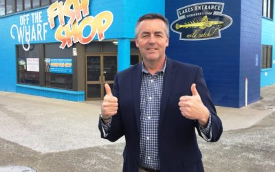 FISHERIES AND ENVIRONMENT ARE WINNERS WITH NEW AFMA OFFICE AT LAKES ENTRANCE