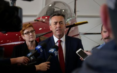 RAAF EXPANSION HALF WAY COMPLETE, NEW AIRCRAFT DELIVERED
