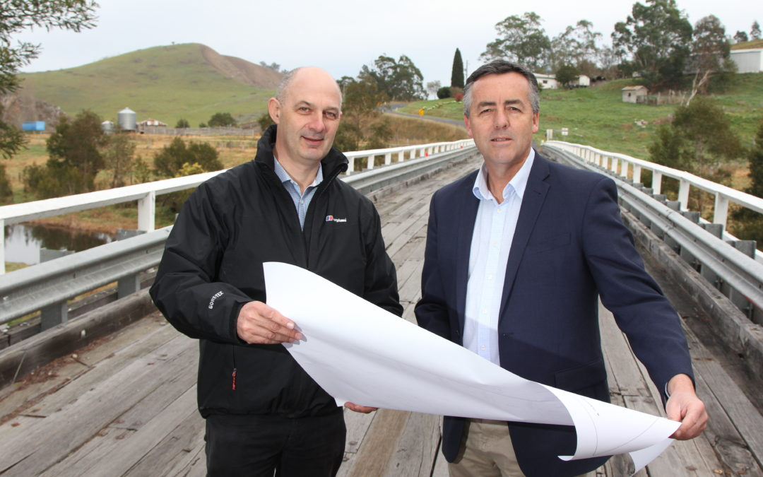 NEW $3.3 MILLION BRIDGE TO MAKE BUCHAN ROAD SAFER