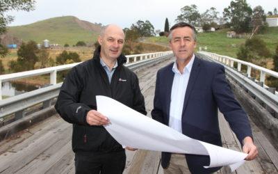 NEW $3.3 MILLION BRIDGE TO MAKE BUCHAN ROAD SAFER