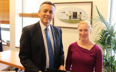 CANBERRA CATCH UP WITH YOUNG INDUSTRY LEADER