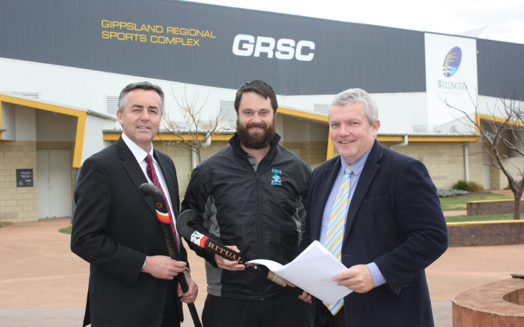 LOCAL COMPANIES URGED TO BID FOR GRSC HOCKEY COMPLEX WORK