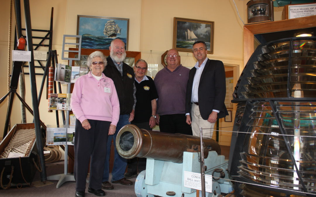 MARITIME RELICS FIND PERMANENT HOME IN PORT ALBERT