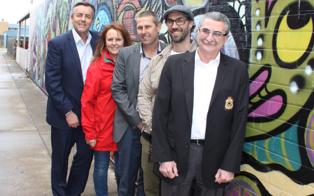 STREET ART REVIVES DULL LANEWAY IN SALE