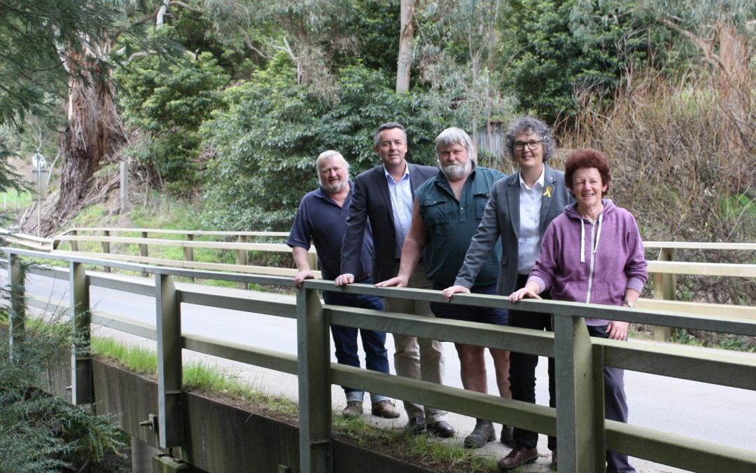 BRIDGE UPGRADE FOR ALBERT RIVER ROAD NEAR YARRAM