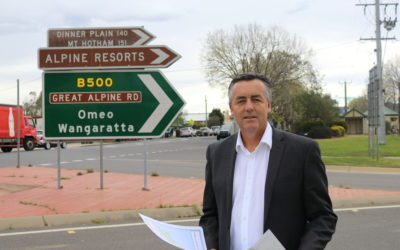 MILLIONS BEING INVESTED IN GREAT ALPINE ROAD UPGRADES