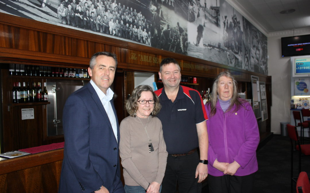 SALE RSL SUPPORTING WAR VETERANS BY REDUCING SOCIAL ISOLATION