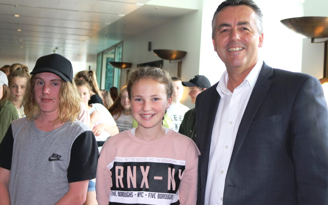 TRARALGON COLLEGE VISITS CANBERRA