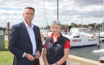 RESCUE BOAT UPGRADE FOR GIPPSLAND LAKES YACHT CLUB