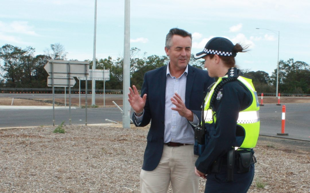 FULHAM-SALE SECTION OF PRINCES HIGHWAY DUPLICATION OPENS