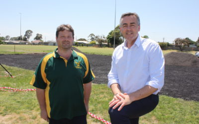 HELPING HAND FOR TRARALGON WEST CRICKET CLUB
