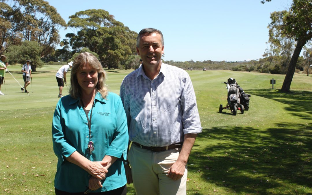 PATH UPGRADE FOR LAKES ENTRANCE GOLF COURSE