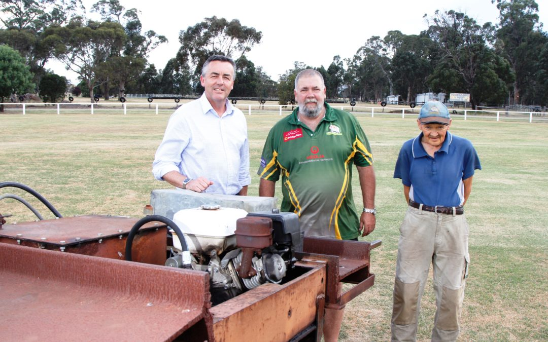 NEW CRICKET WICKET ROLLER FOR TOONGABBIE