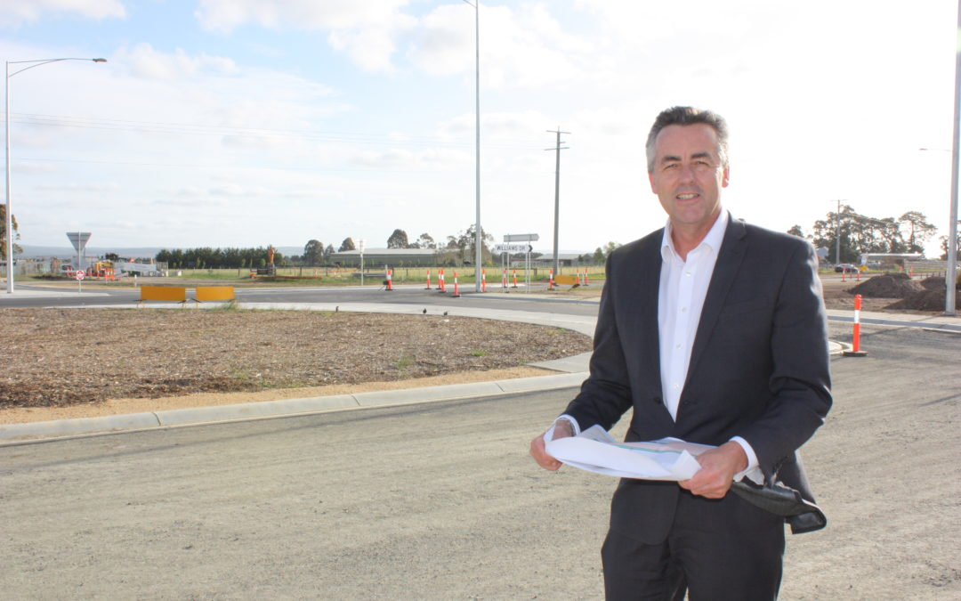 JOYCE URGED TO FUND LAST SECTIONS OF HIGHWAY DUPLICATION