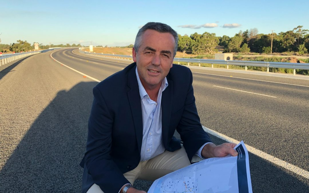 NEW ROAD SECTION OPENS ON PRINCES HIGHWAY NEAR TRARALGON