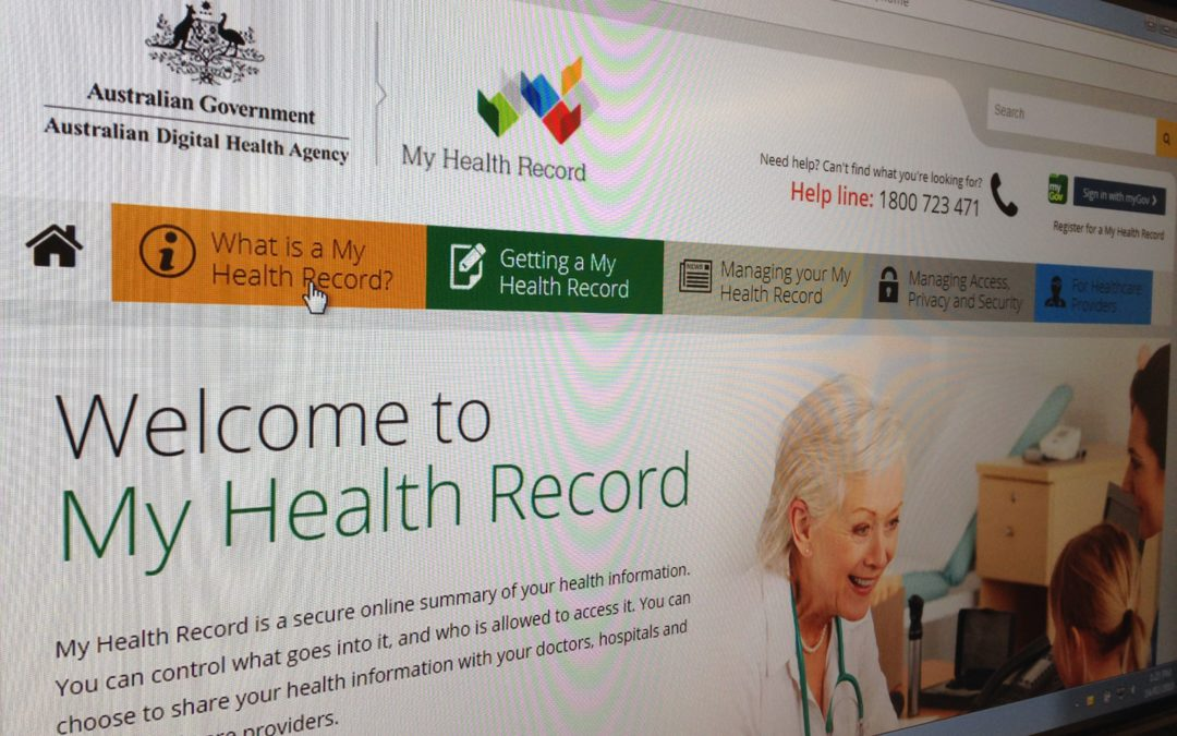 LOCALS URGED TO EMBRACE MY HEALTH RECORD