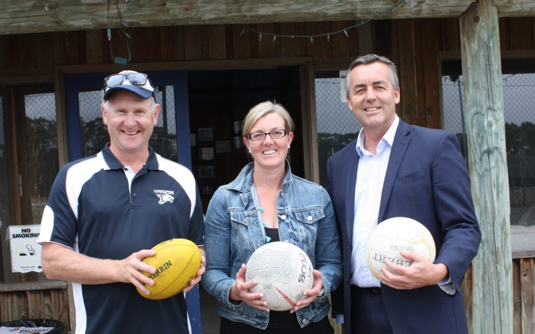 NETBALL UPGRADE FOR WOODSIDE