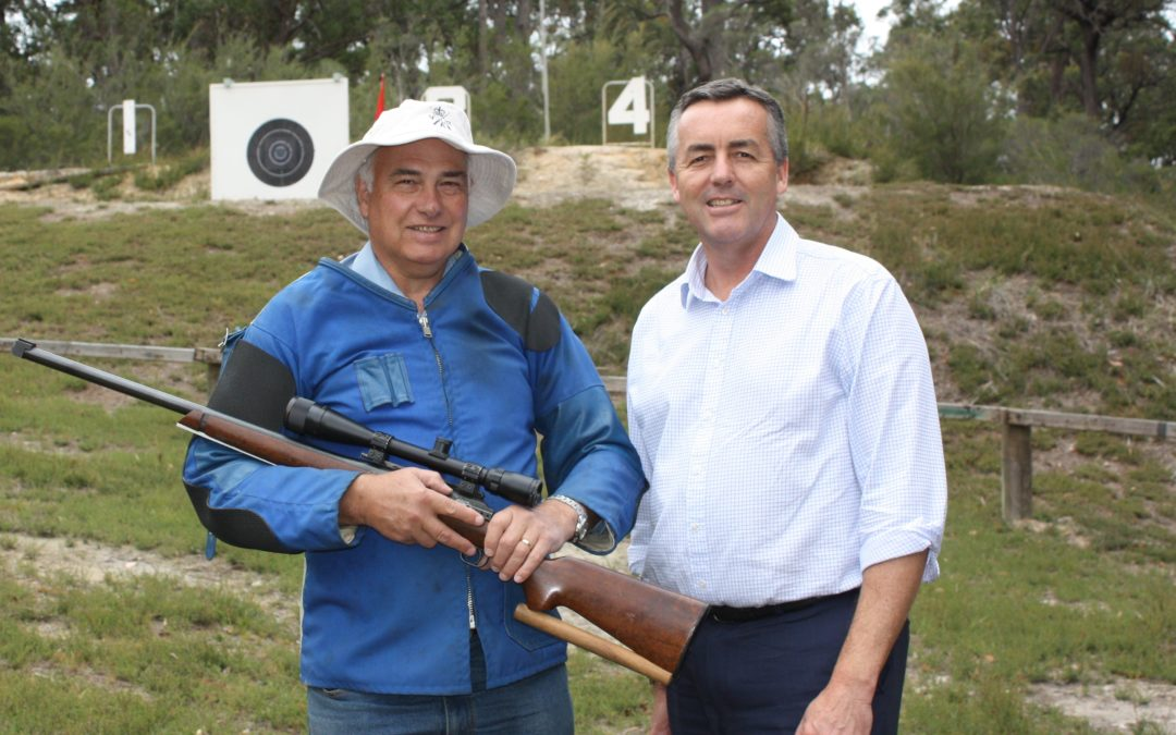 ELECTRONIC TARGET FOR YARRAM RIFLE CLUB