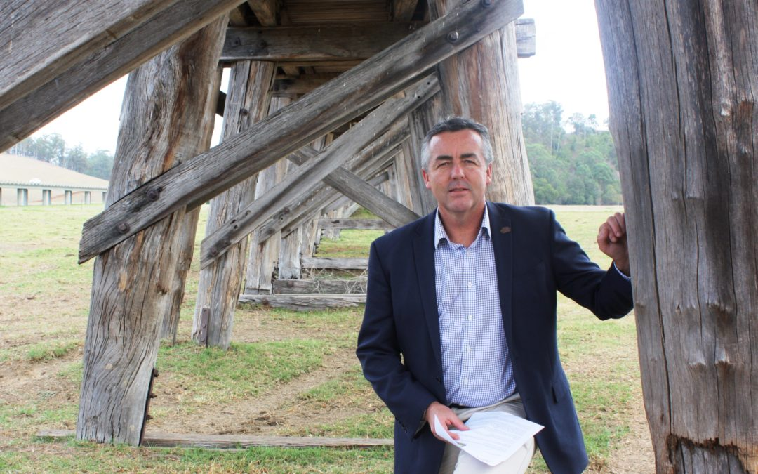 SUPPORT FOR RESTORATION OF HISTORIC ORBOST RAIL BRIDGE