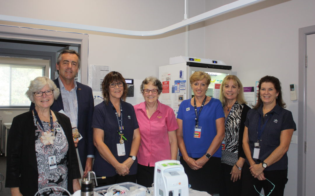 $13,000 FOR NEW EQUIPMENT AT ORBOST MEDICAL CLINIC