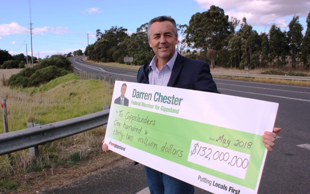 FEDERAL BUDGET GOOD FOR GIPPSLAND