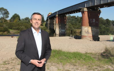 NEW AVON RIVER BRIDGE OUT TO MARKET